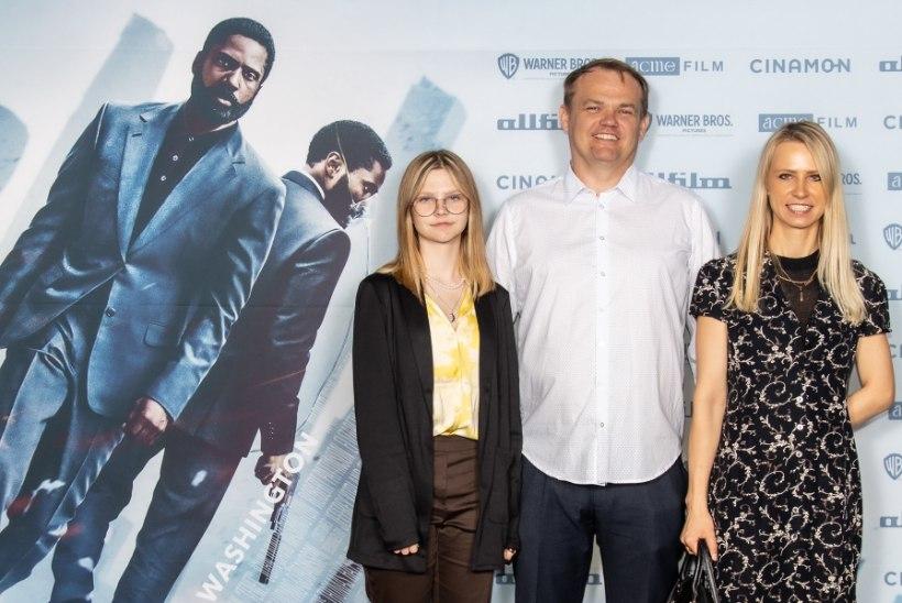 """Renee Meriste käis """"Tenetit"""" kaemas koos perega: super hea film ja mega võimalus Eestile!"""