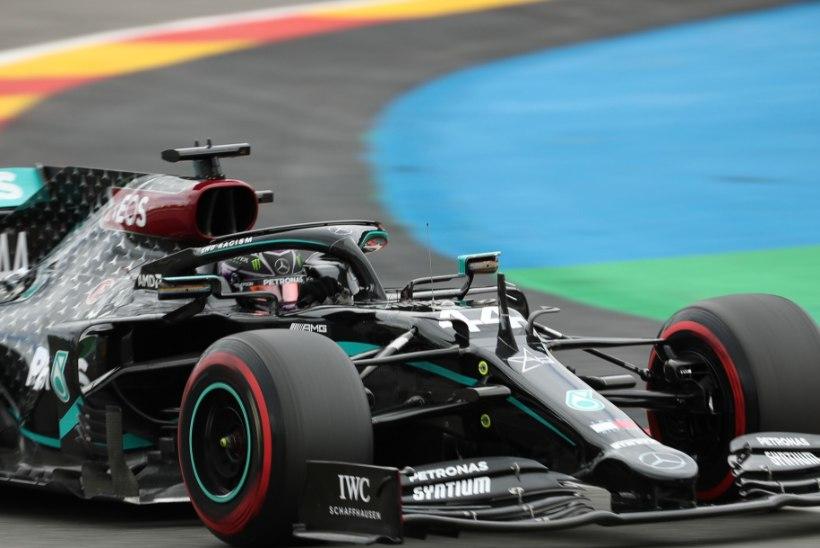 Belgia GP kvalifikatsioonis olid nobedaimad Mercedesed
