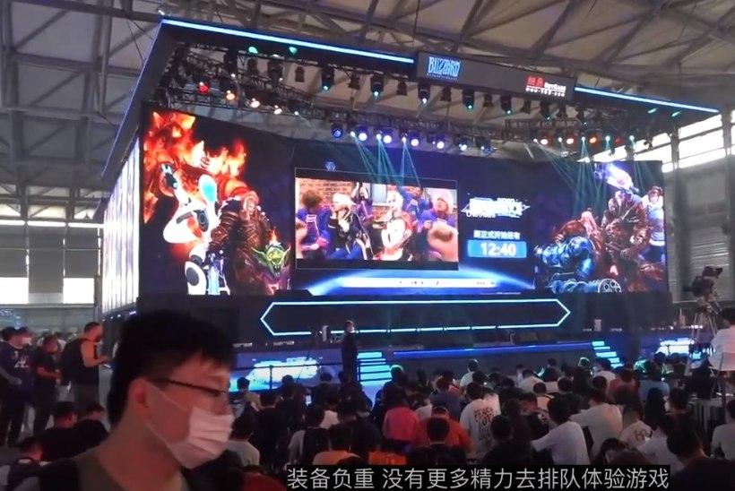 PILDID JA VIDEOD | Hiinas toimus maailma esimene koroonajärgne mängumess