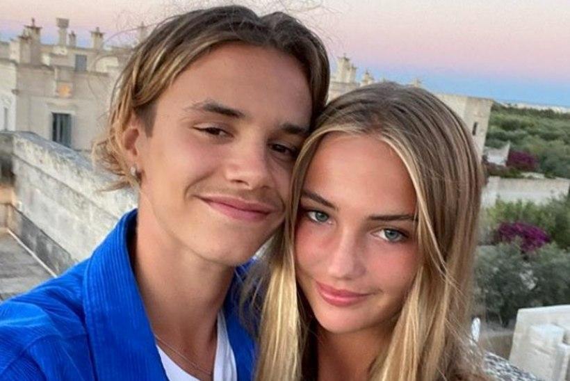 17aastase Romeo Beckhami fotodelt õhkub noort armastust