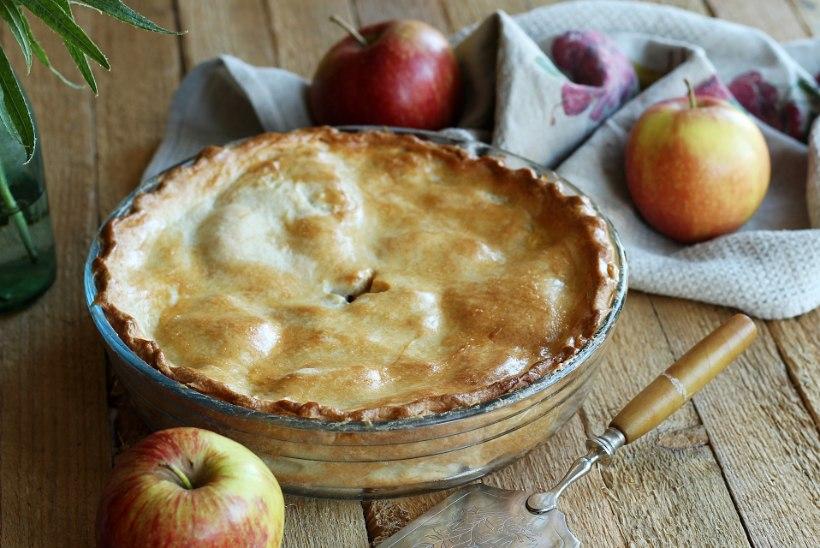 SÄRTSAKAS KOOK: õuntest pungil pirukas ingveriga