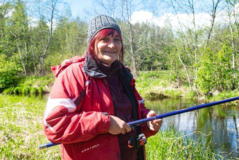 """Kalapüügi harrastaja Eha: """"See on päris hea tunne, kui sinul muudkui võtab, meestel mitte!"""""""