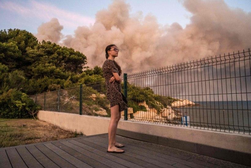 VIDEO   Marseille kandis puhkes hiiglaslik põleng