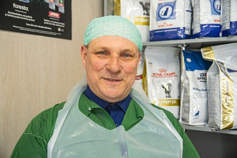 """Ratastel loomakliiniku arst: """"Naudin oma töös iga päeva."""""""