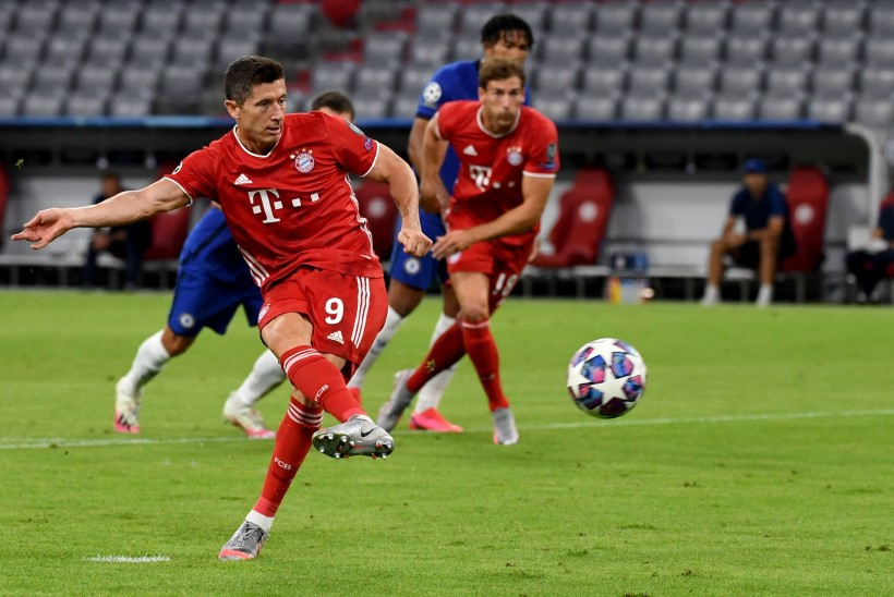 MEISTRITE LIIGA   Bayern ja Barcelona pääsesid kindlalt veerandfinaali