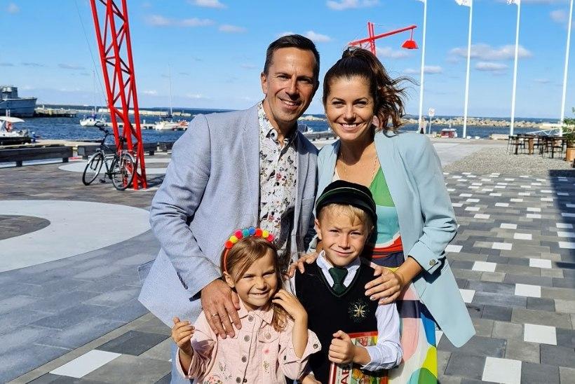 ESIMENE KOOLIPÄEV | Birgit ja Indrek Sarrap: kui küsida, mis tundi Simeon enim ootab, on vastuseks vahetund
