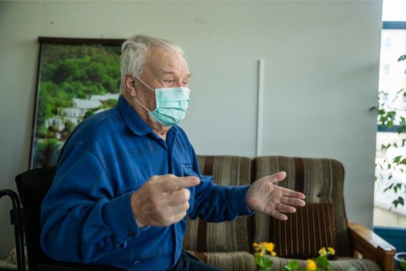 Hooldekodude töötajad ja külastajad peavad hakkama kandma kaitsemaske