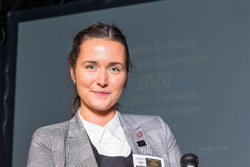 Eesti parim sommeljee on Karoline Reinhold restoranist 180 Degrees