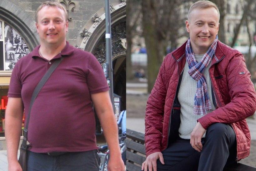 21 kilo kaotanud Ats: teesklesin enne, et ülekaal ei häiri mind!