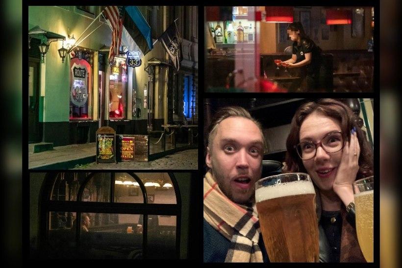 ÕL VIDEO   Janusena Tallinnas: alkoholi saab ka keelu ajal!