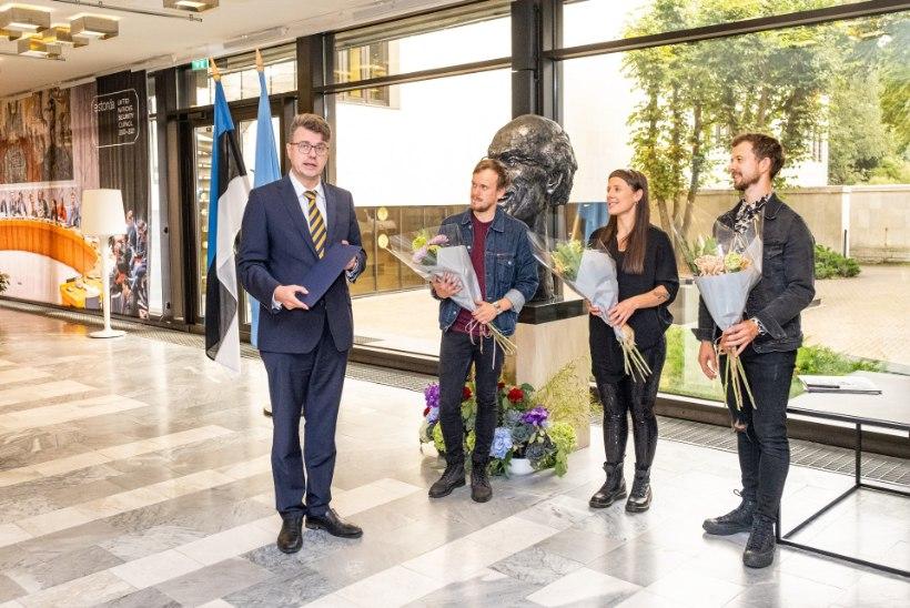 Välisministeeriumi kultuuripreemia sai sel aastal ansambel Trad.Attack!