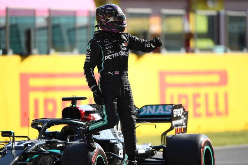 Oconi eksimus kindlustas Hamiltonile Toscana GP kvalifikatsiooni võidu