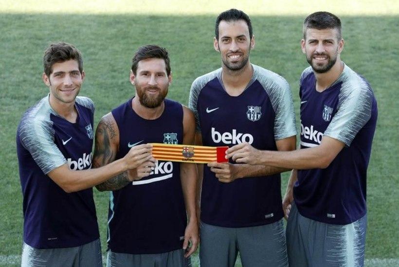 Barcelonast lahkuda soovinud Messi valiti jälle tiimi kapteniks