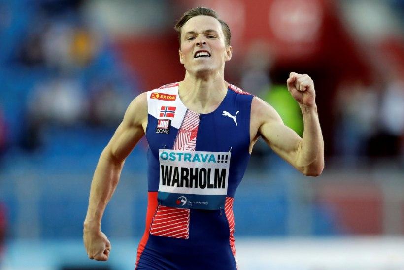 Warholm jooksis järjekordse superaja, Rasmus Mägi püstitas hooaja tippmargi