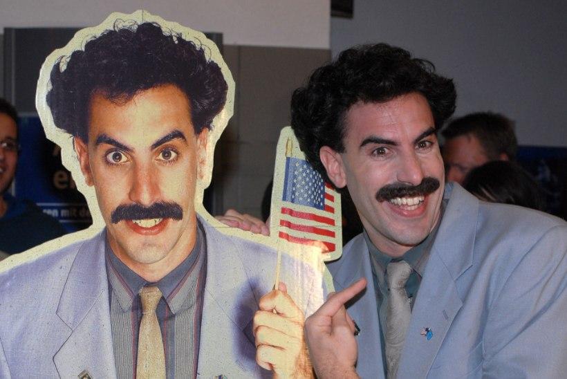 Borat on tagasi! Uus film on juba purgis