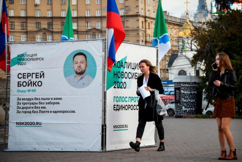 Venemaal toimuvad kohalikud valimised panevad proovile Kremli partei võimu