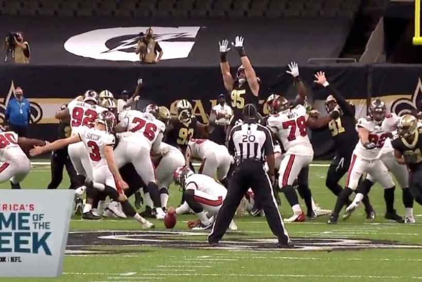 VIDEO | Margus Hunt paistis NFLi avavoorus silma