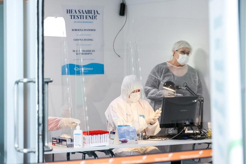 Terviseamet: ööpäevaga lisandus 61 positiivset testi, juhitaval hingamisel on kaks patsienti