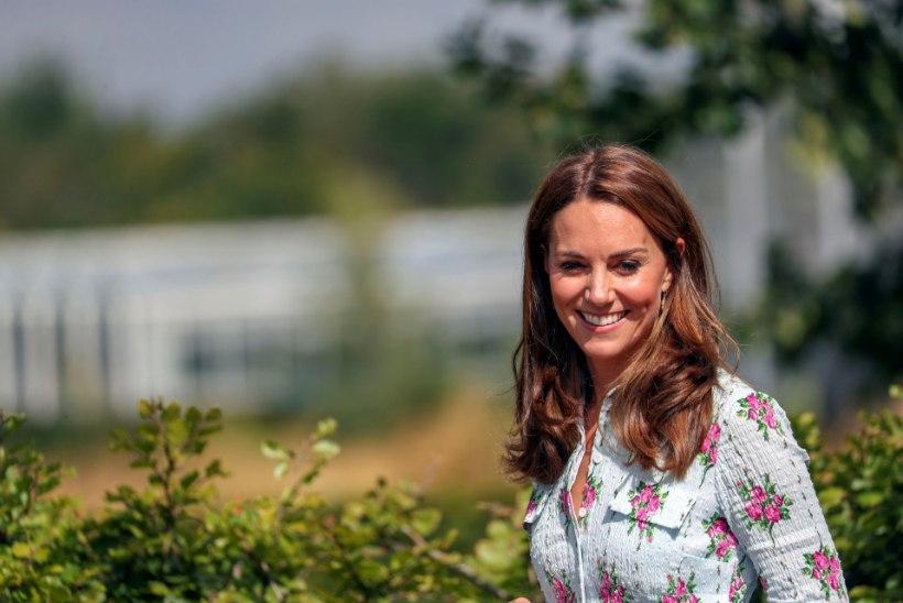 Kate Middleton avaldas pandeemiaprojekti liigutavaimad fotod
