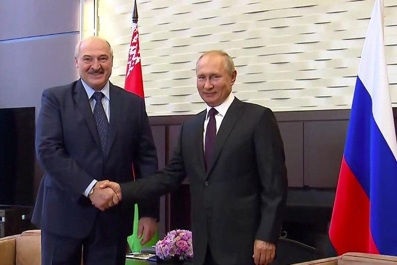 Lukašenka kohtumisest Putiniga: Valgevene peab oma vanema vennaga kokku hoidma