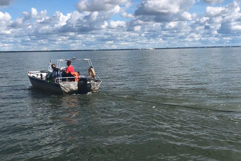 Tragimine Pärnu lahel: tapjavõrke õnneks palju ei leitud