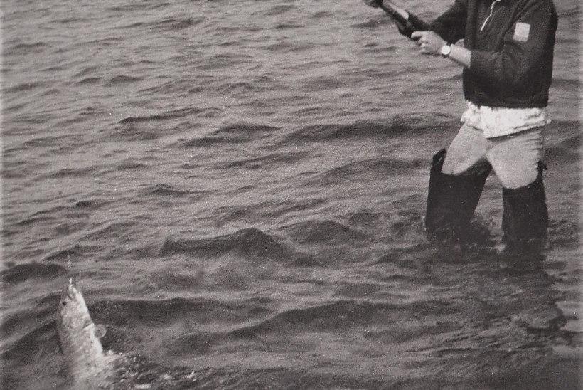 Veterankalamees Katenevi päevikud 1980: Kalevi klubi meister ja ilusad ahvenad Peipsilt.