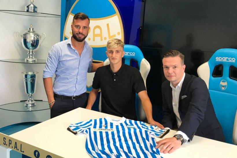 HEA UUDIS: Paide Linnameeskonna noor talent siirdus Itaaliasse teise eestlase koduklubisse