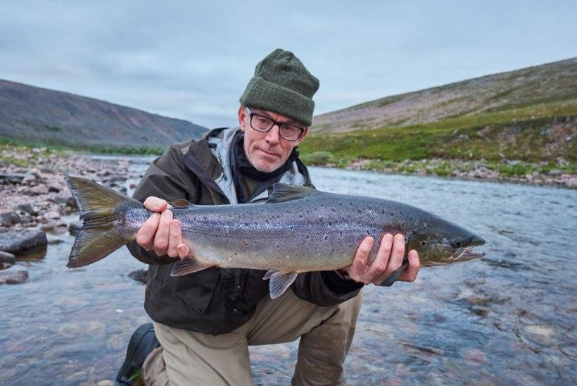 """Kala- ja kirjamees Scott Diel: """"Lendõngemees on juba leppinud, et ta ei püüa kõige rohkem või kõige suuremaid kalu. Ta ei otsi sööki – ta otsib elamust."""""""