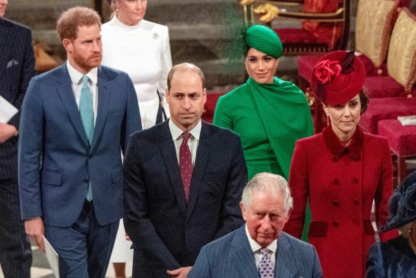 Mis peretüli?! Prints William ja Kate on Harry õnnitlejate esirinnas