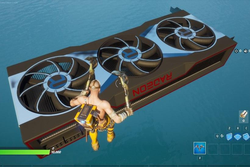 """Tahad lähemalt näha AMD eesootavat Radeon RX 6000 graafikakaarti? Mängi """"Fortnite'i"""""""