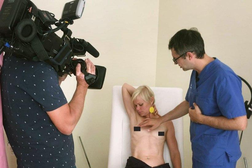 Heidi Hanso võttis tele-eetris rinnad paljaks: oleneb, mis eesmärgil seda teed