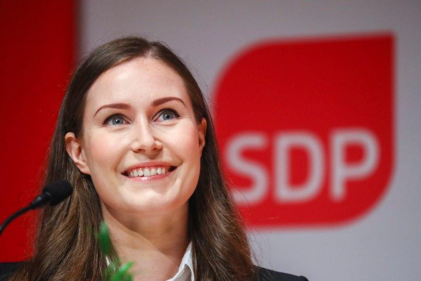 Sotsiaaldemokraatlik partei on jätkuvalt Soome populaarseim erakond