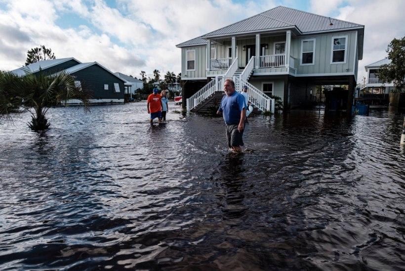 KA AMEERIKAS MARUTAB: orkaan Sally tõttu on üle poole miljoni inimese elektrita