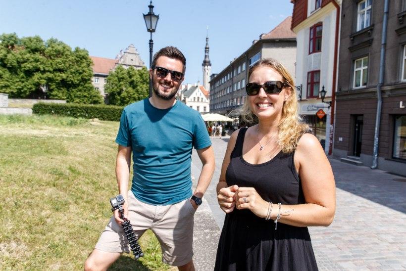 KOHALIKUD JUBA TERETAVAD: Eestisse koroonalõksu jäänud briti paar jõudis ka kodumaa meediasse
