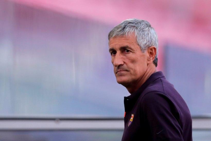 Hiljuti Barcelonast kinga saanud peatreener kaebas klubi kohtusse