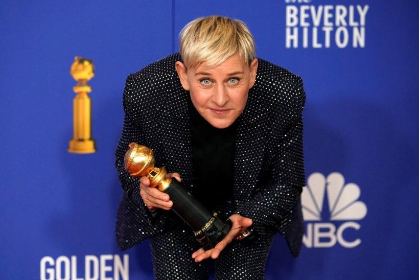 Ellen DeGeneres naasis skandaali järel ekraanile ja palus andestust