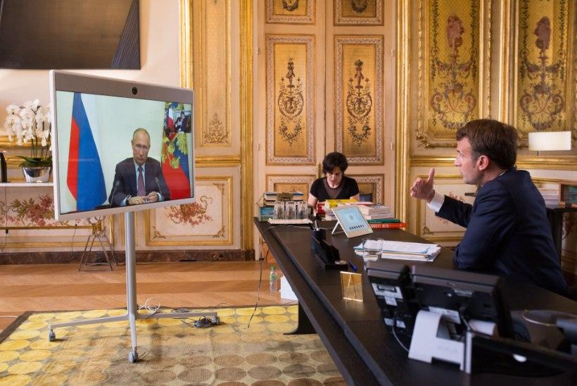 Putin telefonikõnes Macronile: võimalik, et Navalnõi mürgitas end ise ja seotud võis olla ka Läti