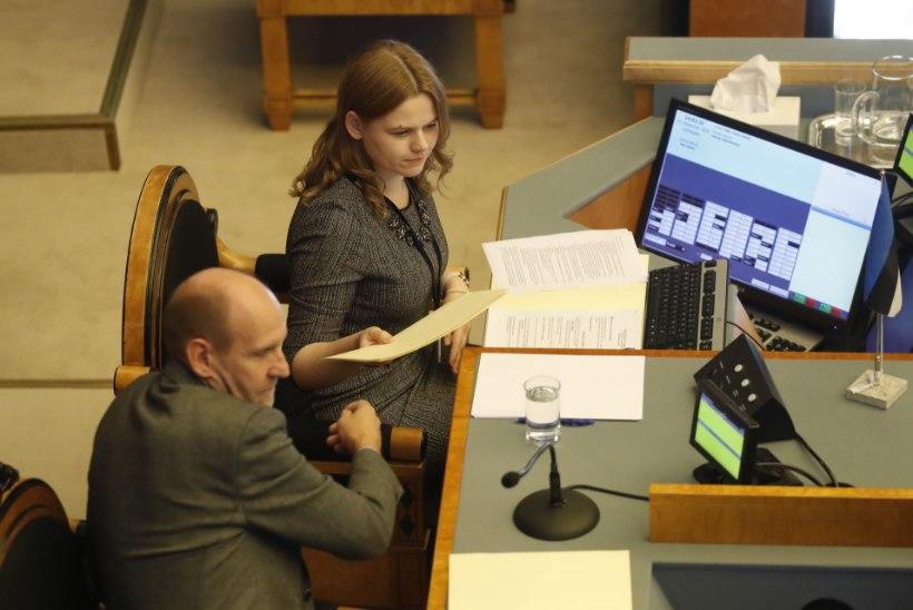 OTSE | Rahandusministri umbusaldamise tuules: opositsiooni küsimusterahe all on Ratas, Kokk ja Lukas