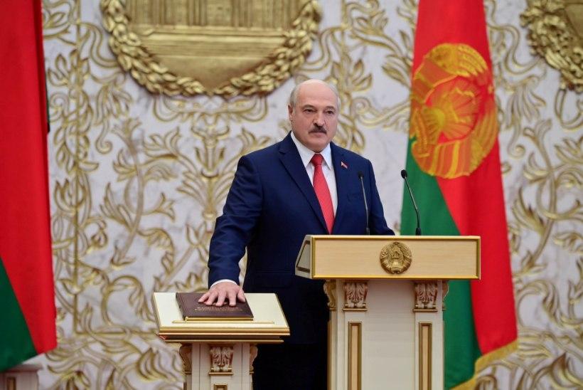 Lukašenka pani Minski tänavad salajase tseremoonia korraldamiseks kinni