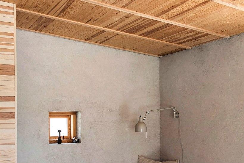 Põnevad alternatiivid sisekujunduses: vineer seina ja tapeet lakke!