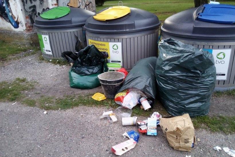 GALERII   Segadus pakendikonteinerites: missuguseid jäätmeid need sisaldavad ja mida seal olla ei tohiks?
