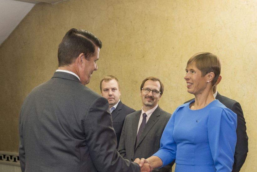 FOTOD | Eesti ja Ameerika kohtumine: koostöö on praeguses majanduskriisis mõlemale kasulik