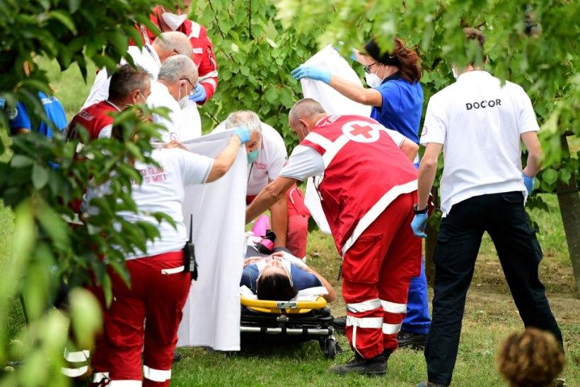 VIDEO | Kohutav õnnetus jalgrattasõidu MMil, OM-hõbe kukkus orgu