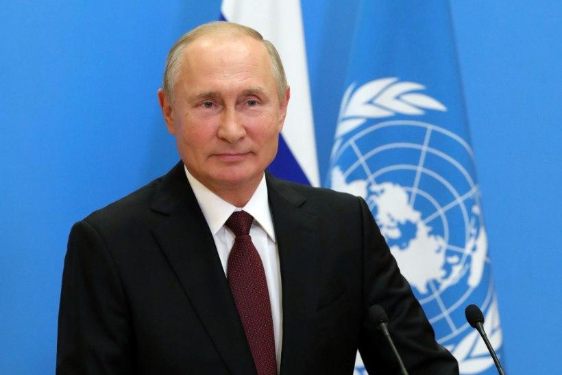 Vladimir Putin esitati Nobeli rahupreemia kandidaadiks