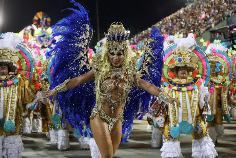 Maailmakuulus Rio de Janeiro karneval lükati koroonahirmu tõttu edasi
