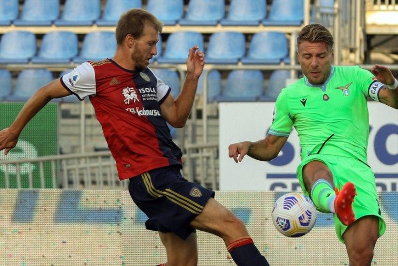 Klavan ja Cagliari kaotasid koduväljakul Laziole