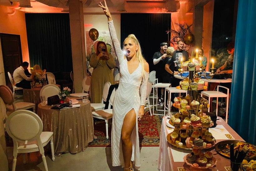 GALERII   Brigitte Susanne Hunt tähistas 25. sünnipäeva tantsu ja tralliga