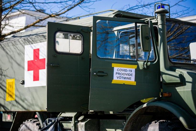 Eelarve punases: koroonatestid sõid ära kaitseväe meditsiiniraha