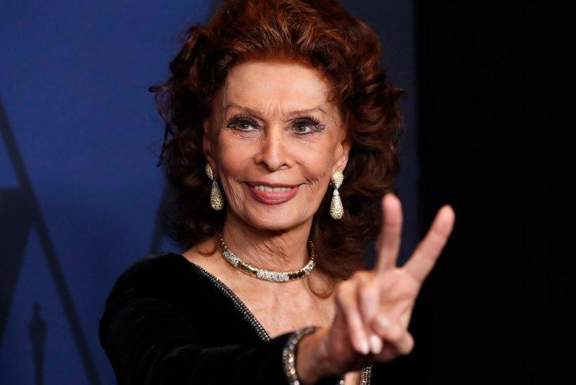 86aastane Sophia Loren naaseb ekraanile vana prostituudina