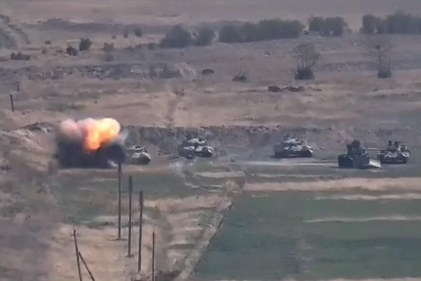 Armeenia ja Aserbaidžaani vastasseis: lahvatasid lahingud Mägi-Karabahhi pärast